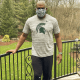 Mel Tucker has been one of several Michigan State coaches to advise wearing a mask to help fight the spread of the coronavirus pandemic.
