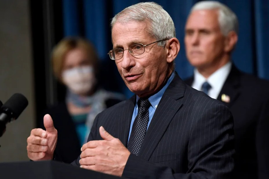 Sinclair Broadcasting says it has decided not to air a segment featuring a conspiracy theorist's wild claims about Dr. Anthony Fauci.