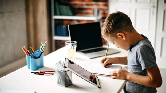 It's time to consider what study spaces should look like for school-aged humans who will be primarily learning at home.
