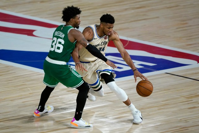 Celtics' Marcus Smart rips NBA officials, suggests special treatment for Giannis Antetokounmpo