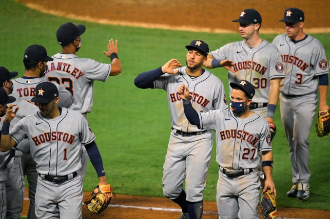 Opinion: Astros get victory but not the boos they deserve in first road game of 2020