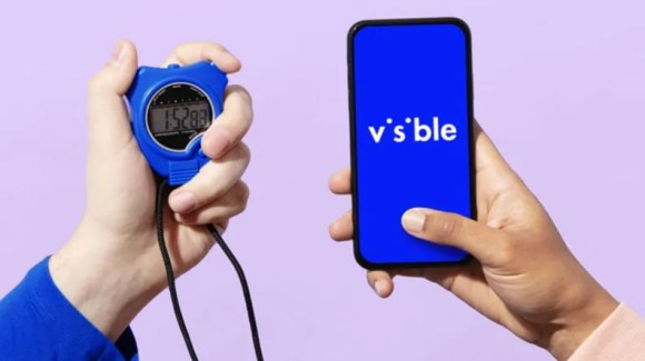 Visible's cell plan is known for its high throughput data.