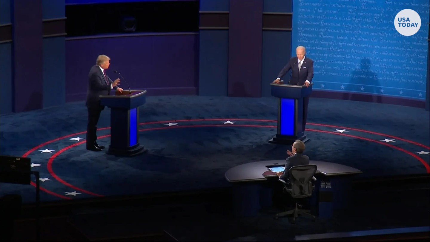 President Donald Trump and Joe Biden clashed over COVID-19, crime and election integrity during the first presidential debate.
