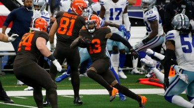 Cleveland Browns WR Odell Beckham explodes for three scores against Cowboys