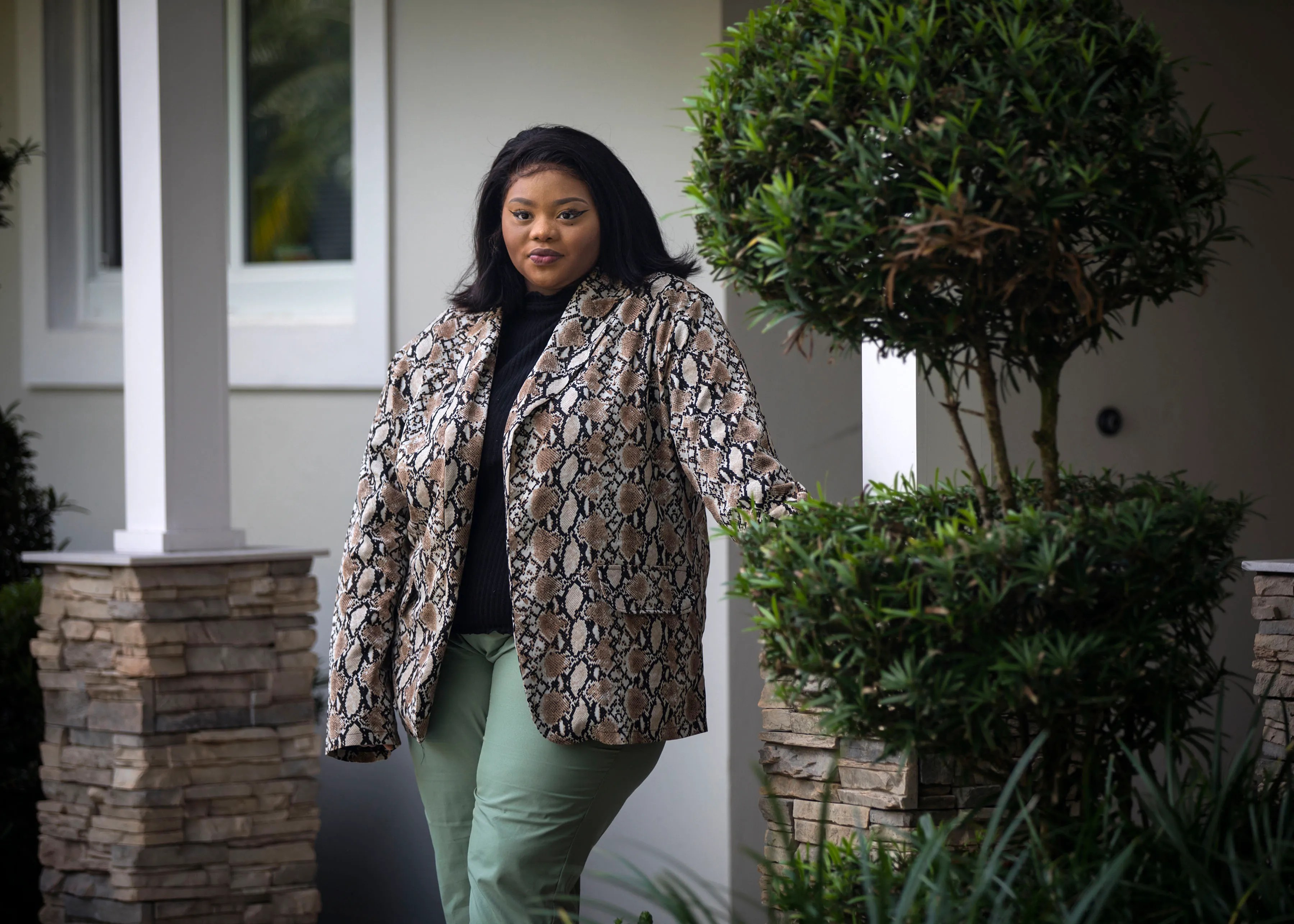Shakyiah Cargill entered the foster care system at age 11 and lived in both foster and group homes until she was 18.