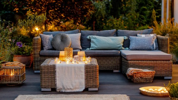 Enjoy more time outdoors with new patio furniture.