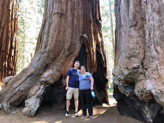 Lance and Lauren Hicks traveled by train to California this summer. They want to do as much traveling as possible while Lauren feels good and is able to hike.