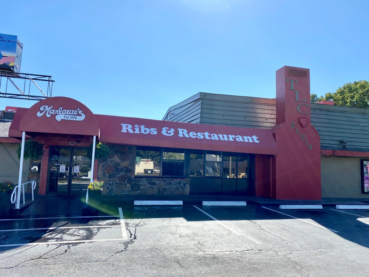 Marlowe's Ribs & Restaurant has been in Whitehaven since 1974.