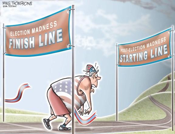 The week in political cartoons: Nov. 7