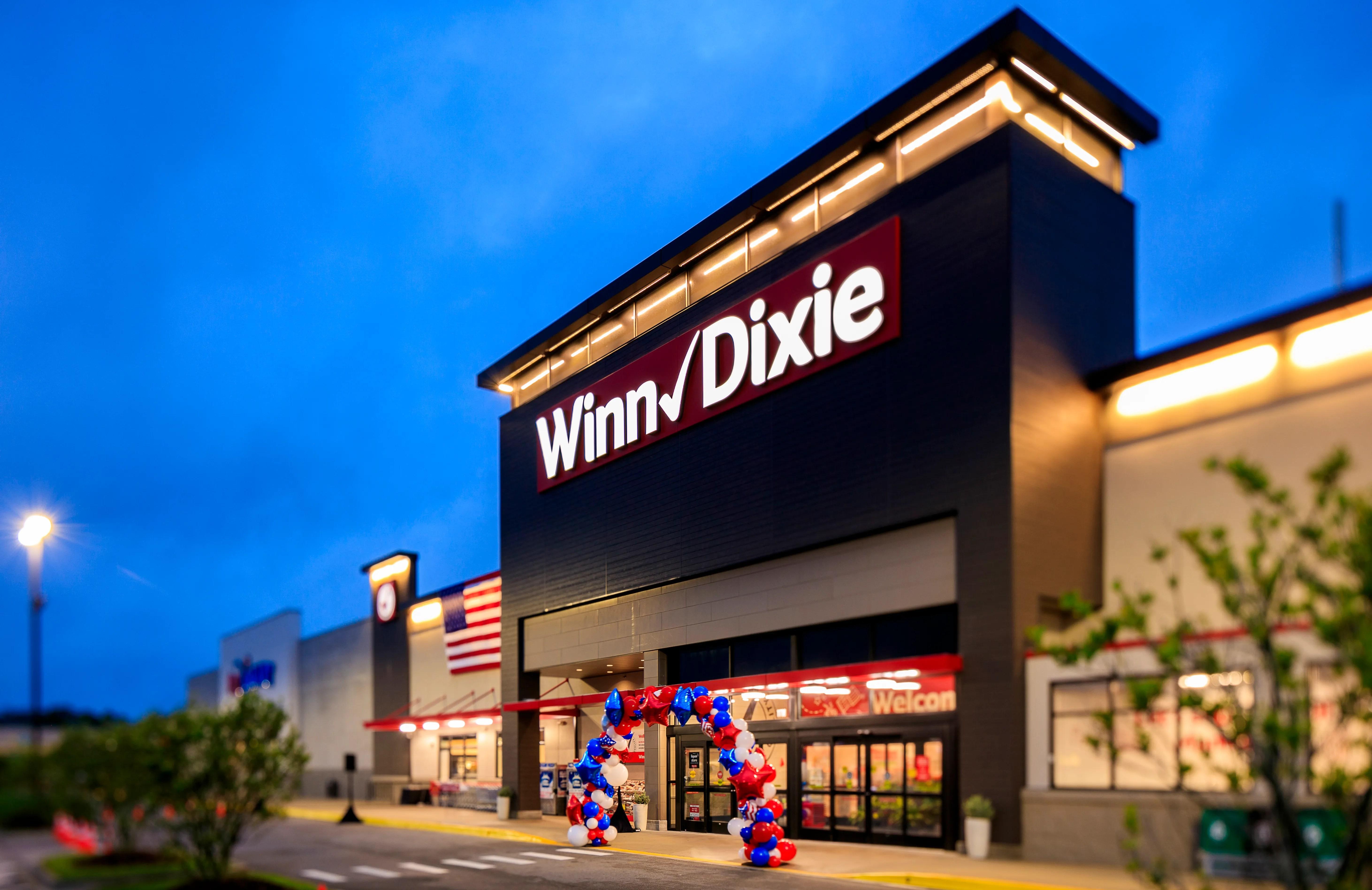 4 jacksonville winn dixie stores