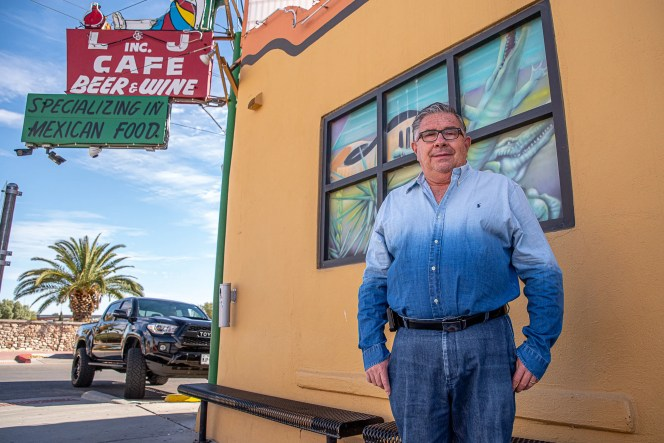 Leo Duran, owner of L&J Cafe in Central El Paso, said being allowed to reopen to inside dining will help pay bills and help employees take care of their families. He is shown Thursday, Nov. 12, 2020.