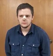 """Heir to the cartel throne, Rubén Oseguera González, called """"Menchito,"""" now in prison in the United States awaiting trial"""