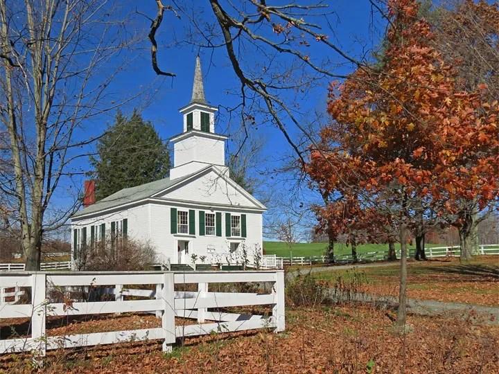 Brownington Church where Alexander Twilight preached.