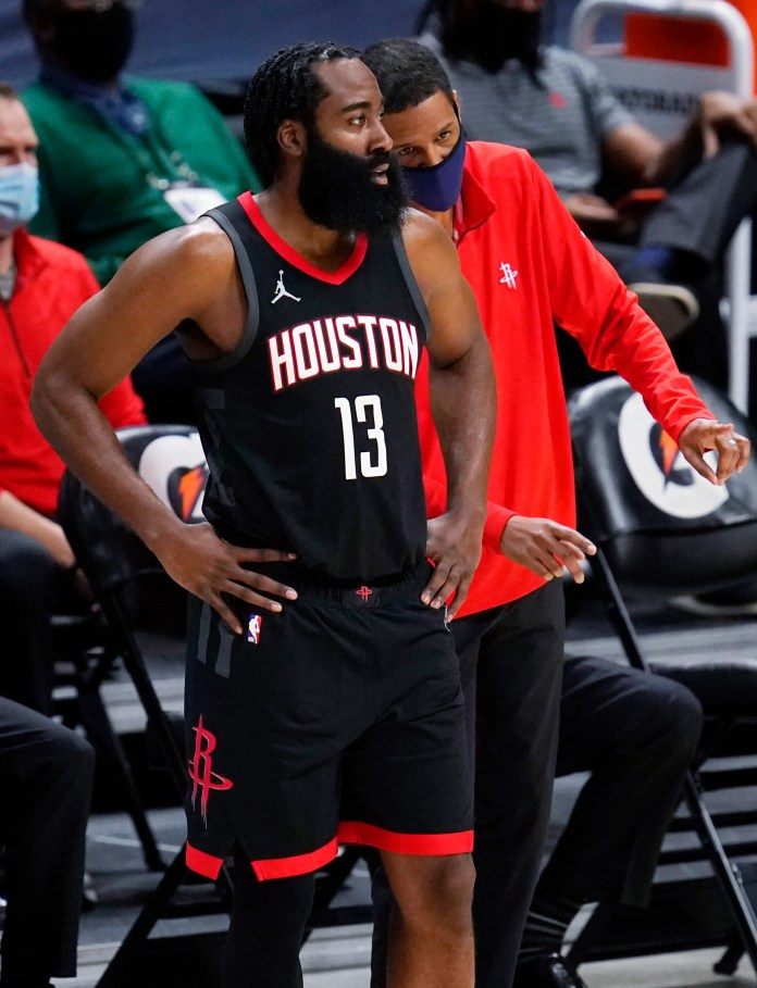 James Harden likes how Stephen Silas has handled new coaching job