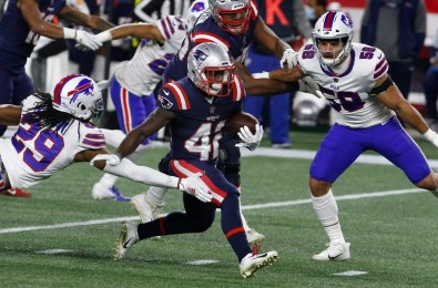 Patience is the key for Patriots rookie RB J.J. Taylor