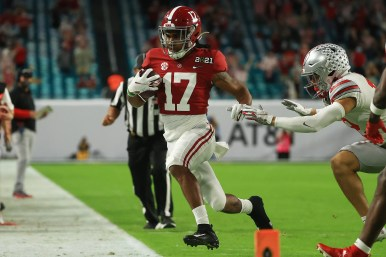 Alabama football: Jaylen Waddle surprises with return in championship