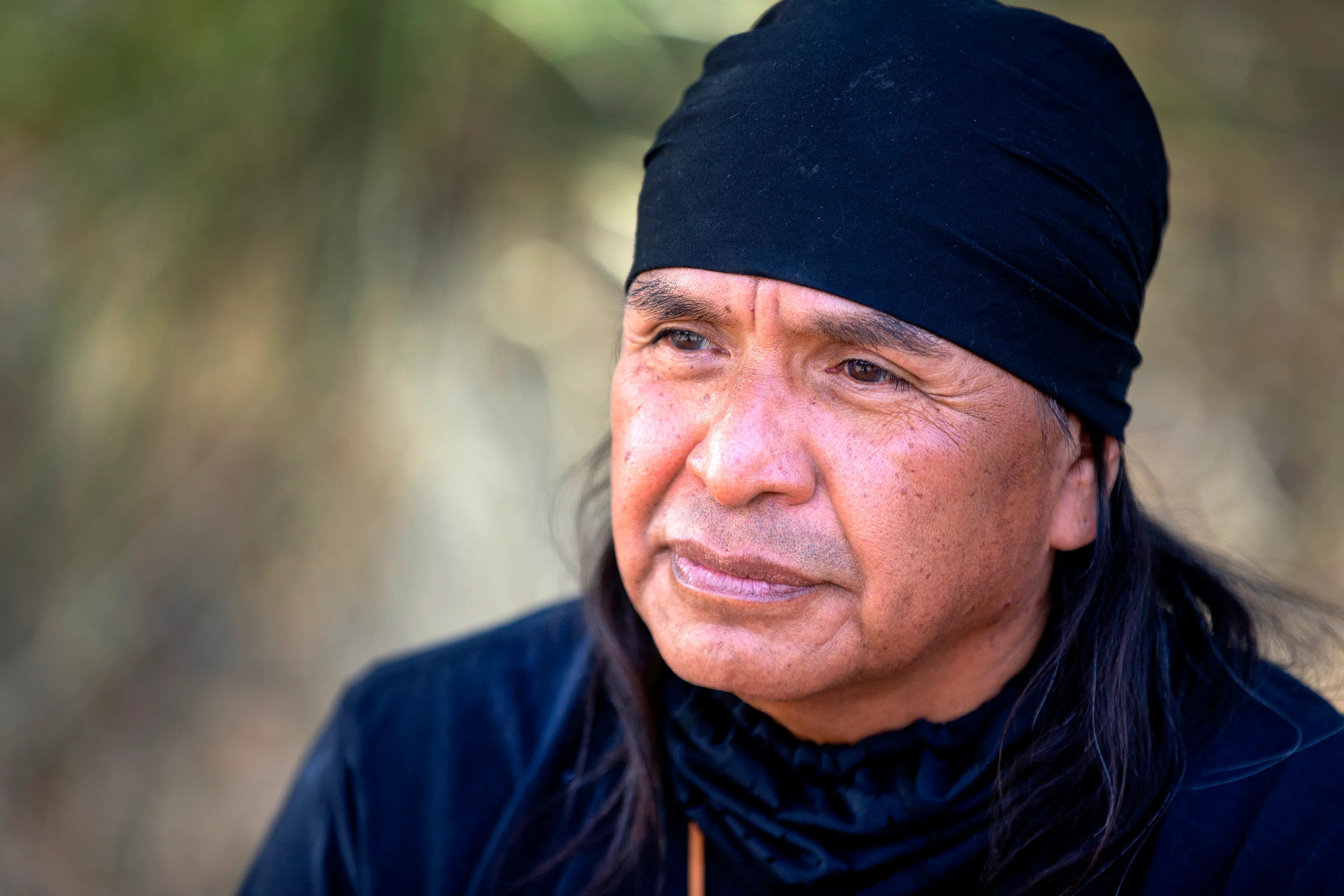 Wendsler Nosie Sr., former San Carlos Apache Tribe Chairman and leader of Apache Stronghold.