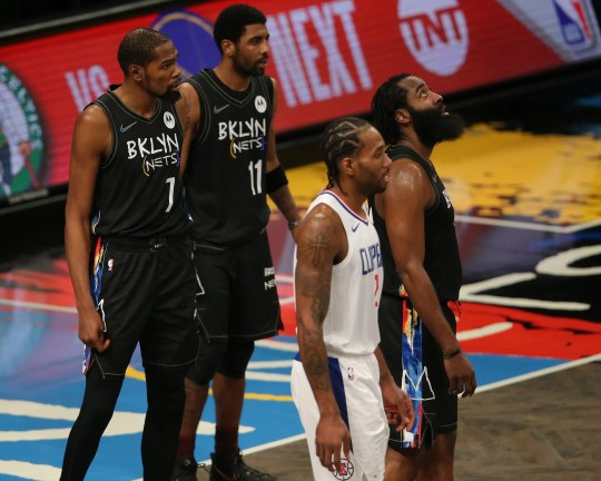 James Harden (13) should be added to the All-Star Game as a reserve, joining Kevin Durant (7), Kyrie Irving (11) and Kawhi Leonard (2), who were voted as starters.