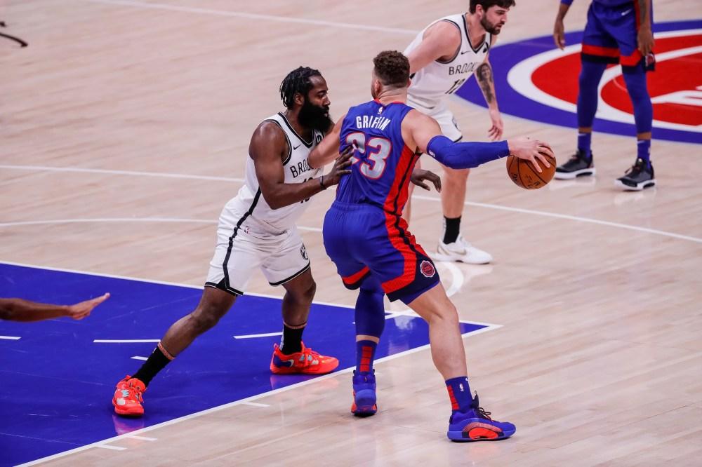 Αποτέλεσμα εικόνας για Detroit Pistons - Brooklyn Nets 122-111