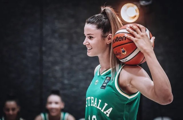 After being locked out of the U.S. for six months, Gemma Potter has given up. Instead of playing college basketball at UCLA, she's signed a professional contract.