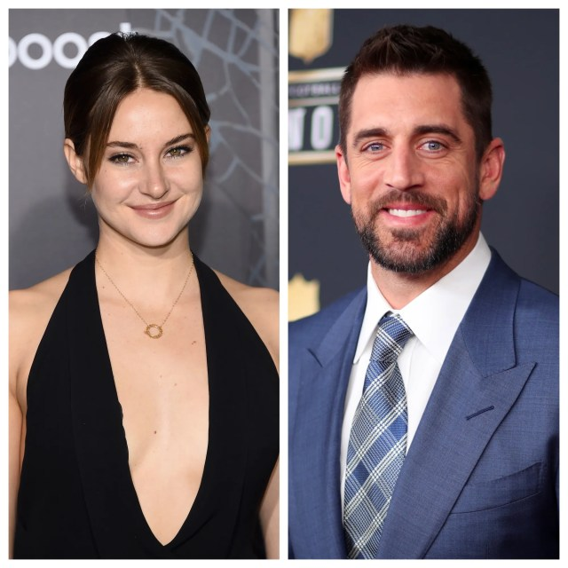 "Shailene Woodley confirmed she's engaged to Green Bay Packers quarterback Aaron Rodgers during an appearance on ""The Tonight Show Starring Jimmy Fallon"" Monday."