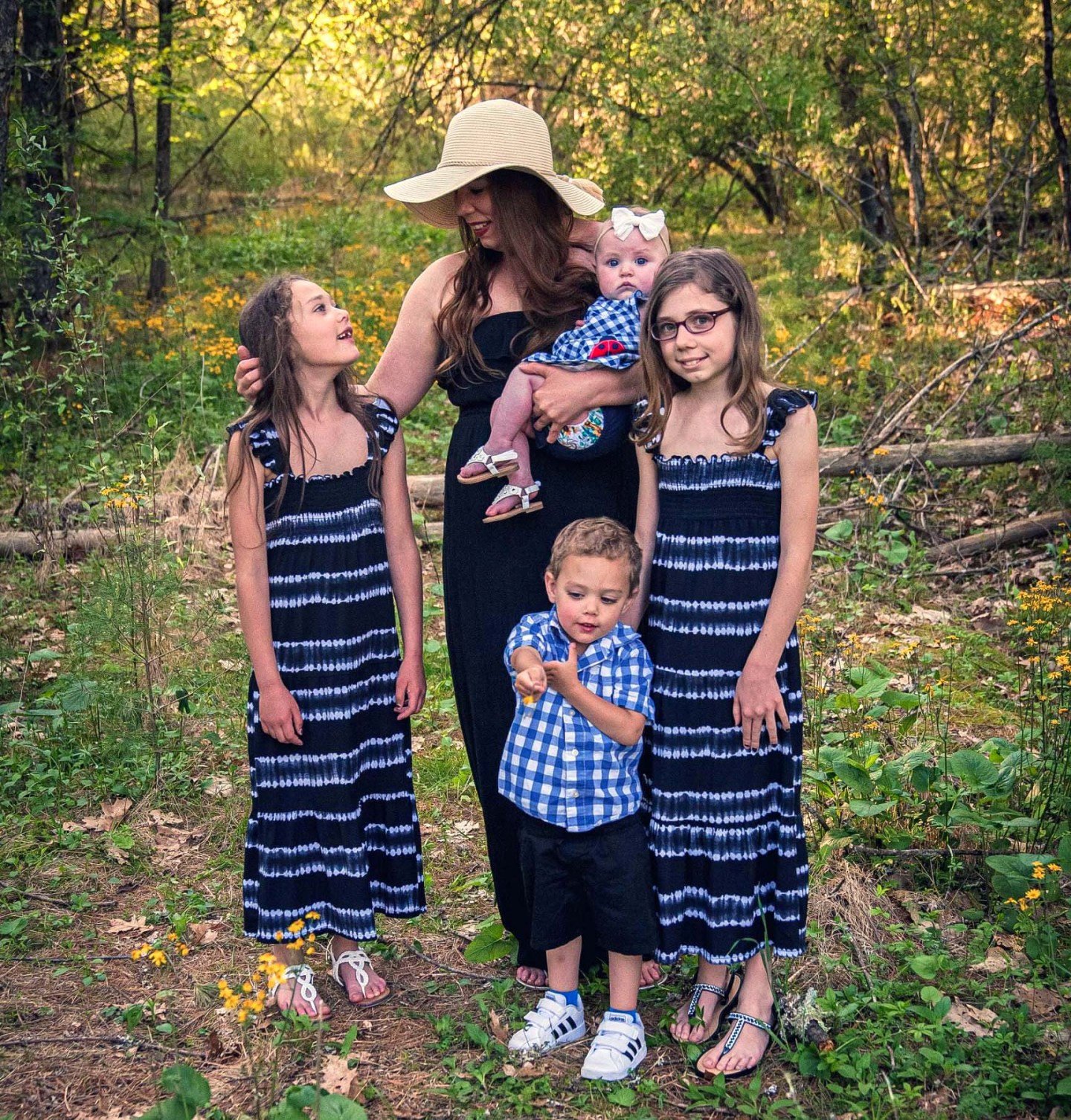 Meghan Hullinger, a single mother of four from West Virginia, has struggled to find child care during the pandemic. Any stimulus money would be used for a babysitter so Hullinger can finish college.