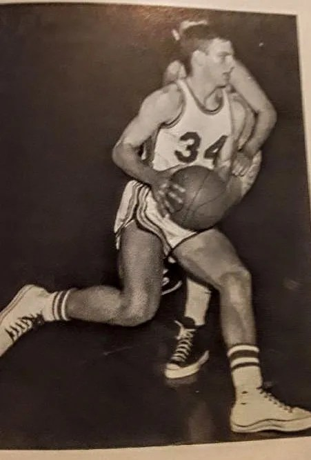 Joe Cougill was a star athlete at Franklin Central High School.