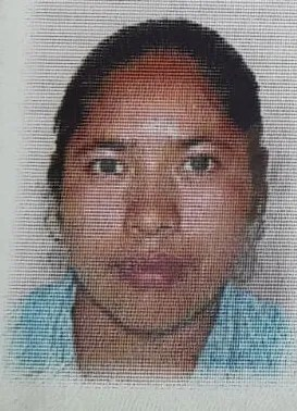 An image of the voter registration card of Carolina Ramirez Perez