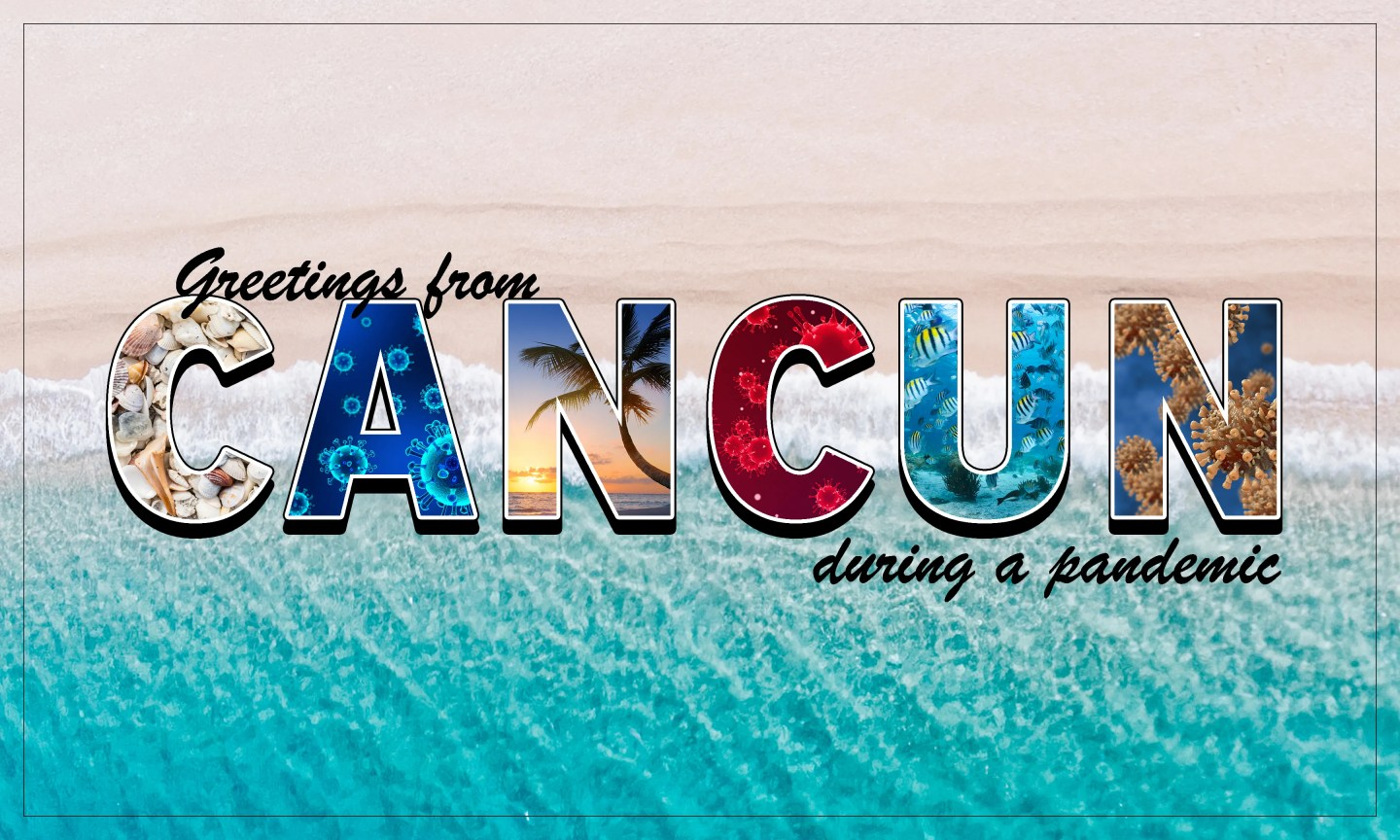 Cancun, Mexico, is a popular spot among American spring breakers, even during a global health crisis.