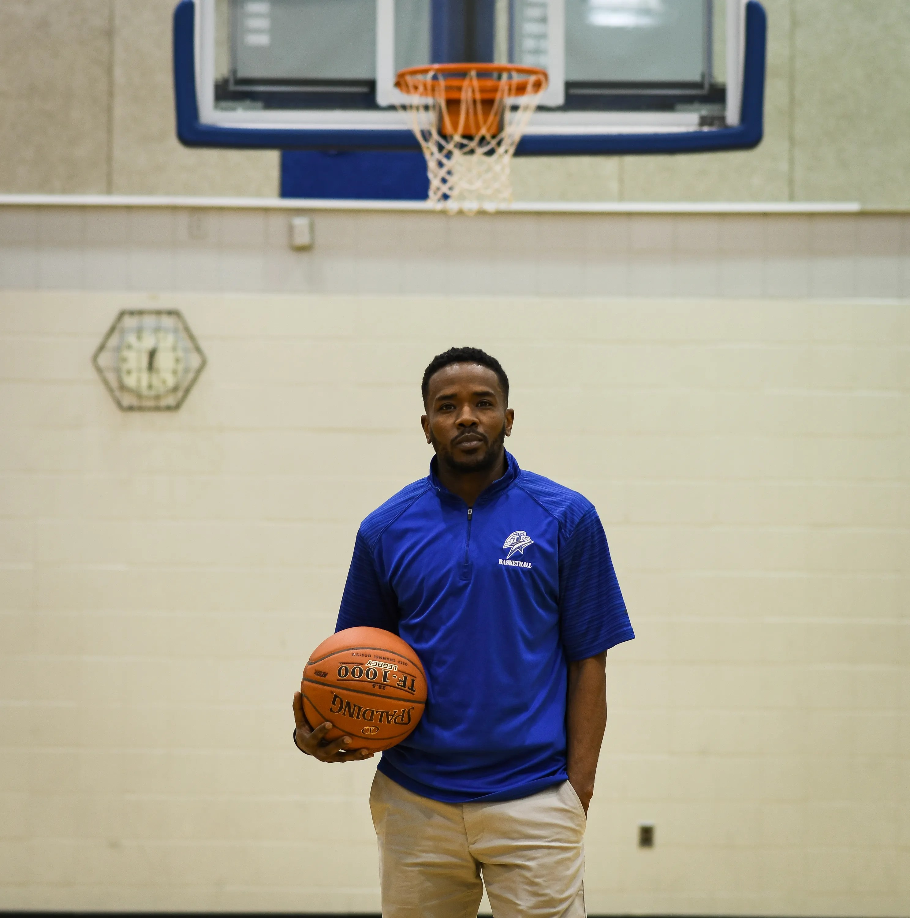 """""""Basketball saved me,"""" Layne Ingram says. """"I can't imagine where I would be if I didn't have basketball because it teaches you how to be a team player, it teaches you how to communicate, it teaches you how to work hard."""""""