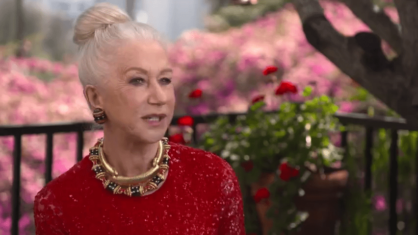 Accessories, accessories, accessories!  Upgrade your post-pandemic look with large earrings, like the ones Helen Mirren wore at the 2021 SAG Awards.