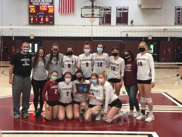Ridgewood girls volleyball beats Randolph for North 1, Group 4 title