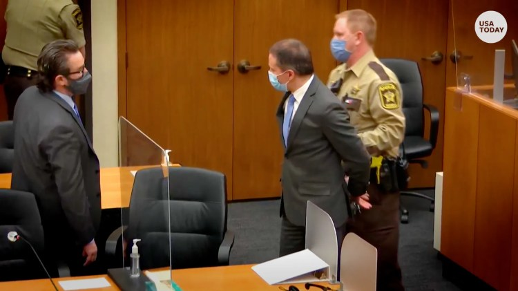 Chauvin guilty of murder: Ex-cop convicted in George Floyd death