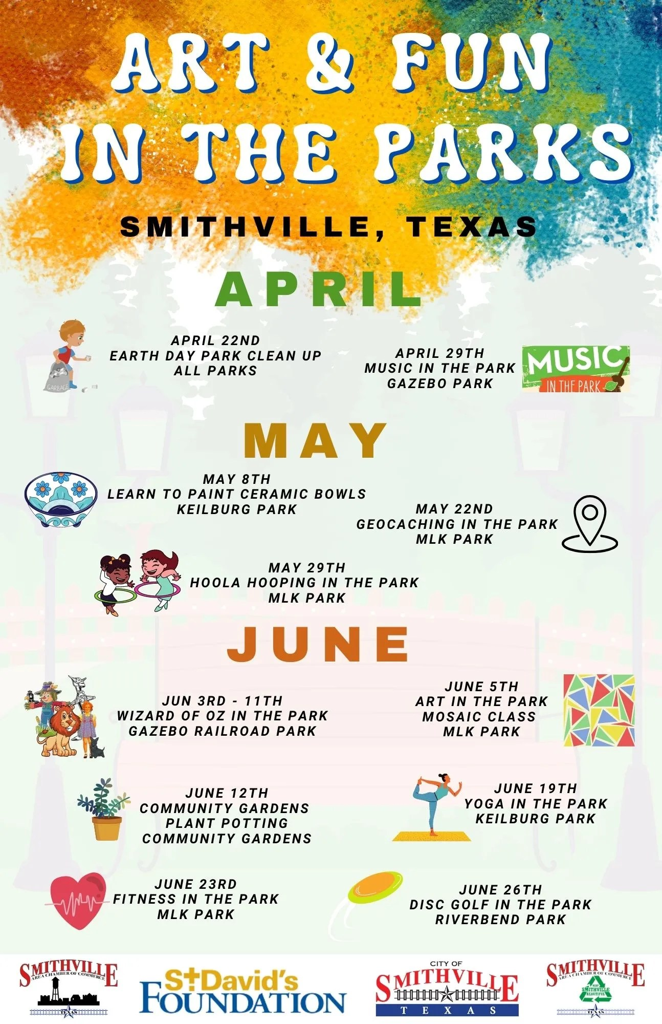 Art and Fun in the Parks