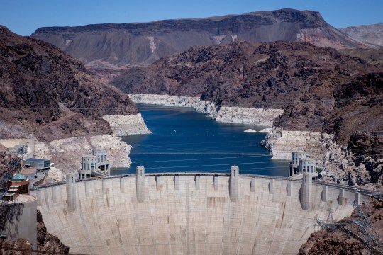 Lake Mead has declined more than 140 feet since 2000 and now sits at 36% of full capacity.