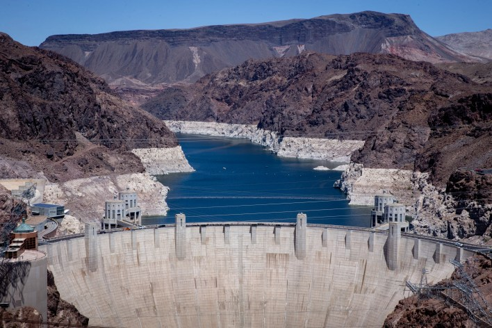 Lake Mead has declined about 140 feet since 2000 and now sits at 37% of full capacity.