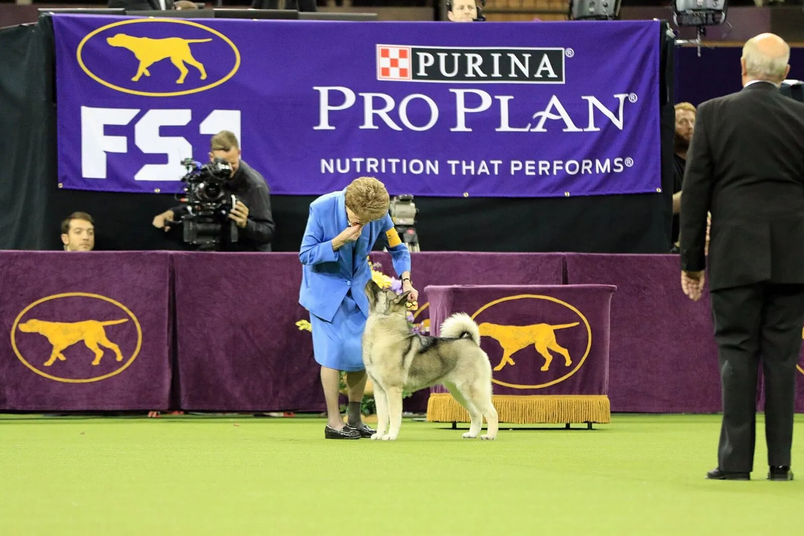 Patricia Trotter at the 2017 Westminster Kennel Club Dog Show.