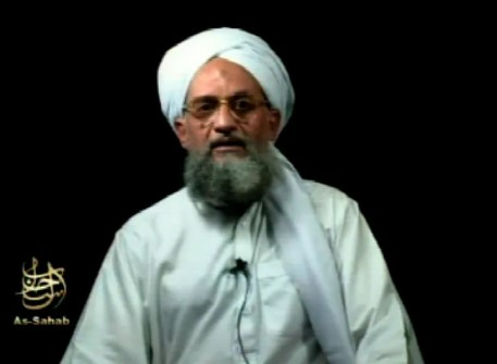 This frame grab from video shows al-Qaida's leader Ayman al-Zawahri at an unknown location, in a videotape issued Sept. 2, 2006. Al-Qaida leader Ayman al-Zawahri appeared in a new video marking the 20th anniversary of the Sept. 11 attacks, months after rumors spread that he was dead. The SITE Intelligence Group that monitors jihadist websites said the video was released Sept. 11, 2021.