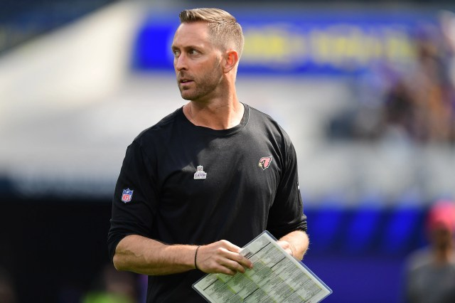 Arizona Cardinals coach Kliff Kingsbury tests positive for COVID-19, will miss Sunday's game