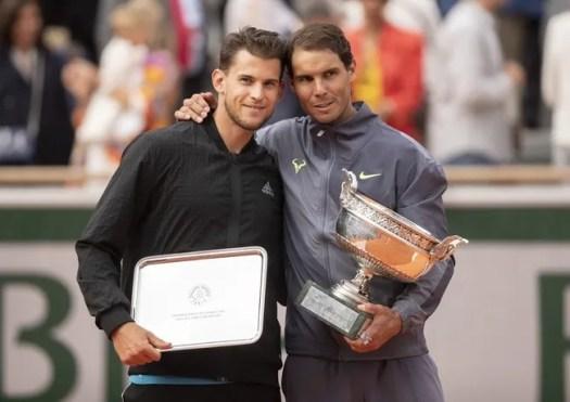 A Day At The Drive: Rafael Nadal vs. Dominic Thiem Tennis ...
