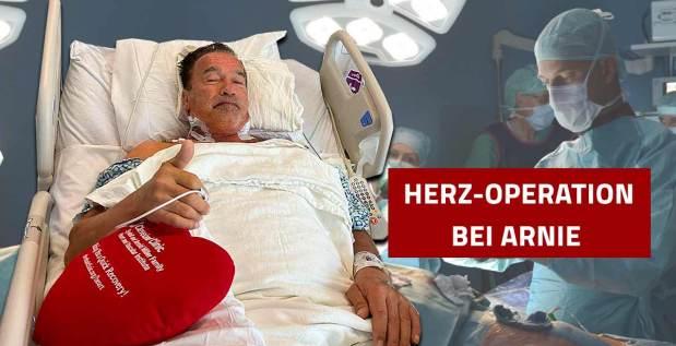 Titelbild: Arnold Schwarzenegger erneut am Herzen operiert