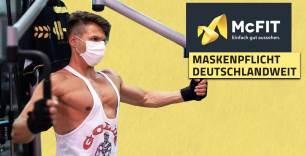 Titelbild: McFit verhängt einheitliche Maskenpflicht für deutsche Studios