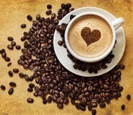 Tazzina di caffe al ganoderma