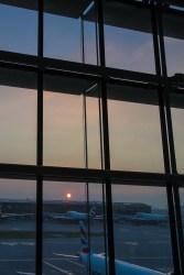 Sunrise at Heathrow