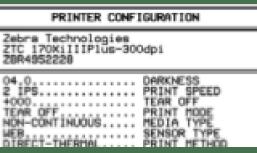 Zebra 110Xi II Printhead Installation Instructions - University