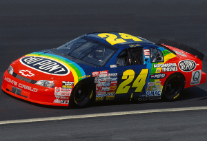 From 1993 through 2000, this car and this paint scheme became the most recognized and popular in NASCAR.