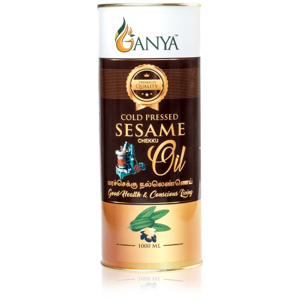 Ganya Cold Pressed Sesame Oil 1000ml