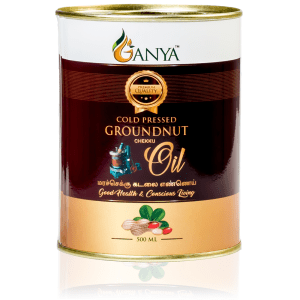Ganya Cold Pressed Groundnut Oil 500ml