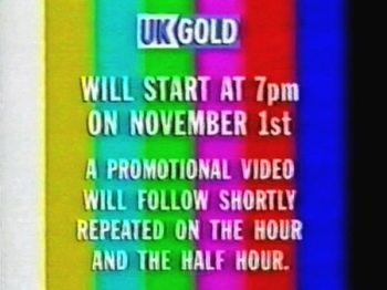 UK Gold pre-launch caption