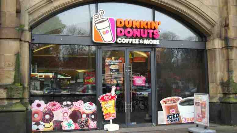 dunkin 39 donuts store jetzt auch in hamburg ganz hamburg. Black Bedroom Furniture Sets. Home Design Ideas